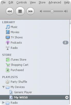 iTunes Agent screenshot